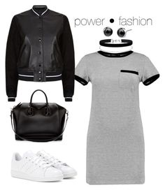 """""""The power in FASHION"""" by vmendozas ❤ liked on Polyvore featuring MARA, adidas, rag & bone, Givenchy, Miss Selfridge and shirtdress"""