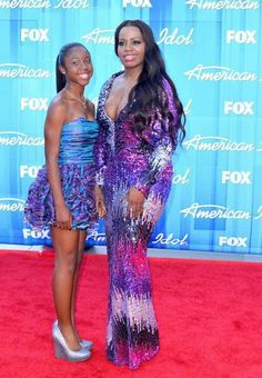 Fantasia and daughter-wow, she's really growing up- i bet she can sing!