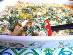 SPLENDID LOW-CARBING BY JENNIFER ELOFF: CHICKEN SPINACH ALFREDO ~ Awesome flavors!  Alfredo sauce is a keeper for other recipes too! Visit us at: https://www.facebook.com/LowCarbingAmongFriends AND https://www.facebook.com/LowCarbHitParade