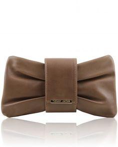 PRISCILLA TL141358 Clutch leather handbag