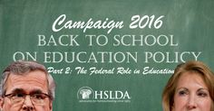 Presidential Candidates School Voters on Ed. Policy at 2015 Summits | Part 2: #ESEA and the Department of Education