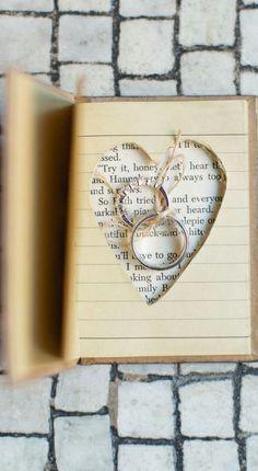 Ring book #DIY #wedding