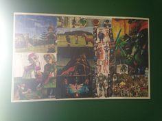 Zelda OOT collage art by me