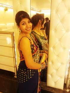 Contestant no. 4  Jyotsna Rai looking beautiful in her Indian Ethnic wear. Like her picture to help her win,