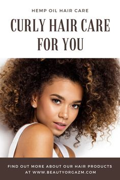 Browse through our full selection of organic beauty cbd products made from best possible natural ingredients. Curly Hair Care, Natural Hair Care, Curly Hair Styles, Natural Hair Styles, Hair Care Routine, Hair Care Tips, Highlights Curly Hair, Cbd Hemp Oil, Bad Hair Day