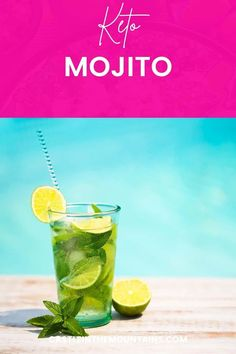 This icy Keto Mojito Recipe just tastes like the essence of the Caribbean. It's sugar free, low carb and and delightfully refreshing. Make it for one or for a crowd. #castleinthemountains #ketococktails Keto On A Budget, Keto Cocktails, Mojito Recipe, Lose Weight, Weight Loss, Gordon Ramsay, Jamie Oliver, Diet And Nutrition, Recipe Collection