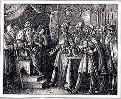 Hervarar Saga: Hjorvard and Hjalmar propose to Ingeborg Norse Mythology, Saga, Vikings, Painting, Origins, Blade, Free, Culture, History