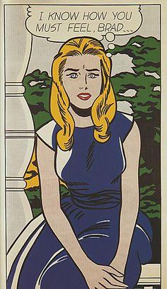 Roy Lichtenstein, I Know how you Must Feel, Brad, 1963