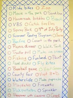 Summer 2011 List