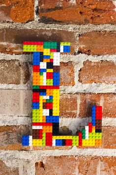 LEGO Monogram Wall Letter 10