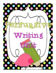 501 best persuasive writing images on pinterest writing activities  persuasive writing mini unit for primary grades