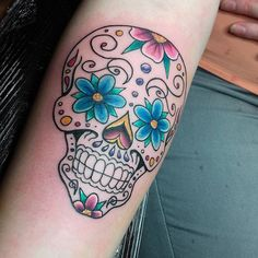 Day of the dead skull by Kim