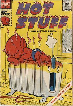 COMIC_hot_stuff_08 #comic #cover #art