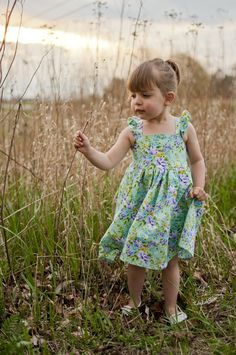 New! Katy Cross Back Flutter Knot Top & Dress PDF Sewing Pattern