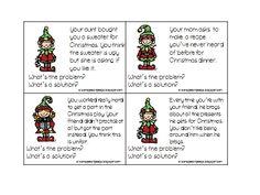 *Freebie* Social Skills for Christmas — Speech Peeps