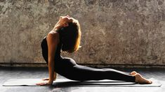 Stretch into zen with this two-minute yoga routine.