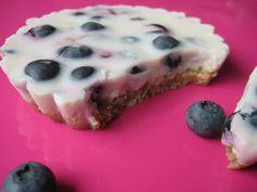 Lekker en gezond eten: Yoghurttaart met blauwe bessen
