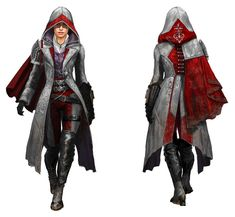 Evie Frye Assassin's Creed Syndicate wallpapers Wallpapers) – Wallpapers Assassins Creed Cosplay, Assassins Creed Female, Assassin Costume, Assasin Female, Assassin Logo, Asesins Creed, Graphic Novel, Look Blazer, Character Outfits