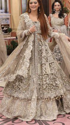 Asian Bridal Dresses, Asian Wedding Dress, Pakistani Wedding Outfits, Indian Gowns Dresses, Indian Bridal Outfits, Pakistani Wedding Dresses, Gown Wedding, Bridal Gown, Nikkah Dress
