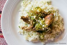 FoodForHunters.com : Squirrel with Salsa Verde #hunting