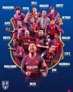 best players of barcelona Football Players Photos, Football Images, Lionel Messi Barcelona, Barcelona Football, Fifa, Xavi Iniesta, Uefa Football, Cr7 Junior, Sports Humor