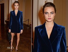 Cara Delevingne In Emilio Pucci – Vogue and J Crew London Fashion Week Dinner