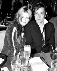 ALISON MOSSHART AND JAMIE HINCE AT THE BLK DNM AND ANOTHER MAN DINNER PARTY AT LA BODEGA NEGRA IN LONDON CELEBRATING THE UK LAUNCH OF BLK DNM AT BROWNS FOCUS AND THE SPRING // SUMMER ISSUE OF ANOTHER MAN.