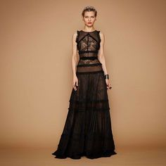 Georges Hobeika - Fall-Winter Ready-to-Wear Collection Georges Hobeika, Robes Elie Saab, Mode Russe, Lace Dress, Dress Up, Special Dresses, Designer Gowns, Designer Clothing, Beautiful Gowns