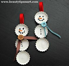 Homemade Christmas Ornaments 2012 Ideas Unique & Easy