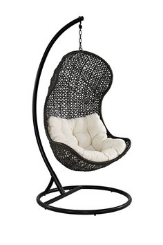 The Parlay Rattan Outdoor Wicker Patio Swing Chair