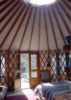 This is an Alaskan Yurt  Alaska Cabins; Alaska Lodging; Seward, Alaska; Resurrection Bay