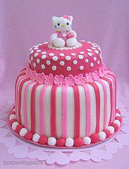 Hello Kitty cake by Pixie Pie