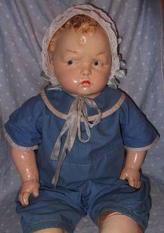 """Effanbee Rare 23"""" GRUMPY Composition Doll**"""