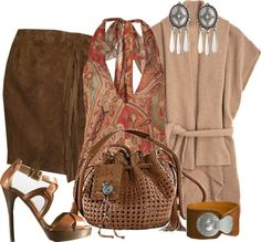 """""""Camel Cashmere Cardigan"""" by gangdise on Polyvore"""