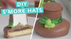 DIY S'more Hats.