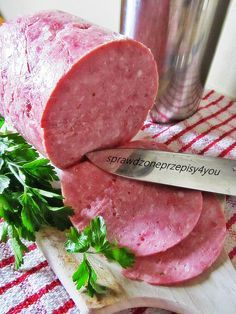 Meat Sandwich, Cold Cuts, Kielbasa, Exotic Food, Polish Recipes, Smoking Meat, Charcuterie, Carne, Food To Make