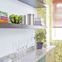 Looking for kitchen shelving ideas? Take at look at these great shelving ideas for the kitchen, from open shelving to kitchen shelving units Beautiful Kitchens, Metal Kitchen, Shelves, Small Kitchen, Kitchen Shelving Units, Kitchen, Narrow Kitchen, Kitchen Shelves, Shelving