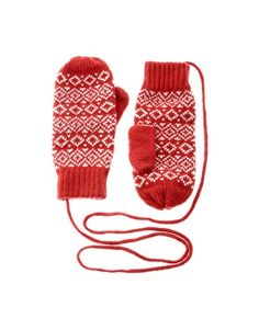 Old fashion gloves with the string. Good stocking stuffer