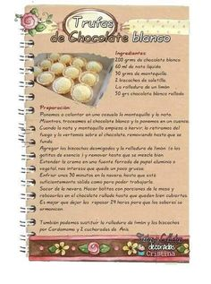 Pastry Recipes, Baking Recipes, Cookie Recipes, Snack Recipes, Dessert Recipes, Desserts, Snacks, Love Chocolate, Chocolate Blanco
