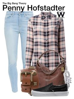 """""""The Big Bang Theory"""" by wearwhatyouwatch ❤ liked on Polyvore featuring Paige Denim, Equipment, Lab, Frye, Burberry, Vans, women's clothing, women, female and woman"""