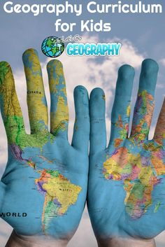 Let's Go Geography Course for Elementary Students. This is great for homeschool, small classrooms, and co-ops and includes many hands-on activities, crafts, videos, and more.