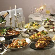 Silvester-Buffet: Leckere Häppchen für Ihre Party ins neue Jahr  - silvester-buffet-feuerwerk