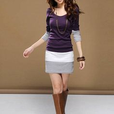 Party Sweater Mini Dress  Women Long Sleeve knit Bodycon Tops Slim Party Sweater Mini Dress  $18.00free shipping  You save28%off the regular price of$25.00  Condition:  New without tags: A brand-new unused and unworn item (including handmade items) that is not in original packaging or ... Read more  Brand:  Unbranded  Size: M L XL Style: Stretch Bodycon  Decoration: None Occasion: Casual  Neckline: U Neck Dress Length: Above Knee Mini  UPC:  Does Not Apply  Sleeve Style: Long Sleeve  MPN…