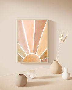 Art Aquarelle, Watercolor Art, Modern Art Prints, Modern Wall Art, Sun Painting, Animal Decor, Pics Art, Abstract Wall Art, Printable Wall Art