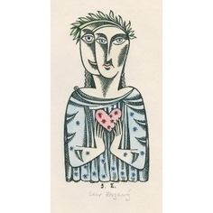 Dvojportrét (Zamilovaní) Roman Catholic, Illustration, Artist, Fictional Characters, Catholic, Artists, Illustrations, Fantasy Characters