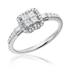 Este fascinantă puterea bijuteriei, a acestui inel, câtă căldură, cât soare și câtă iubire poate fi cuprinsă în el.  #Sabion #romania #jewelry #white #gold #collections #engagementrings #38 #diamonds #GSI