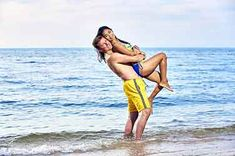 Bikini couple in love napa swimming suite Couple Beach Photos, Beach Pictures, Couple Pictures, Dating Site In Usa, Online Dating, Thai Brides, Couple In Love, Best Honeymoon Destinations, Saving Your Marriage