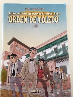 Los Caballeros de La Orden de Toledo // Dibujado por Juanfran Cabrera y escrito por Javierre. Ya mismo tendré el 2 fascículo!