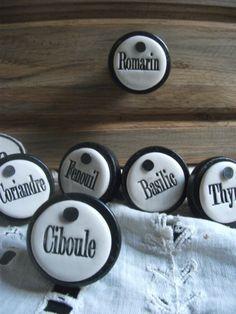 Boutons de tiroir Minéral