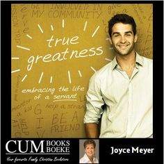 Discover how to live a life of true greatness, serving those He's entrusted you with